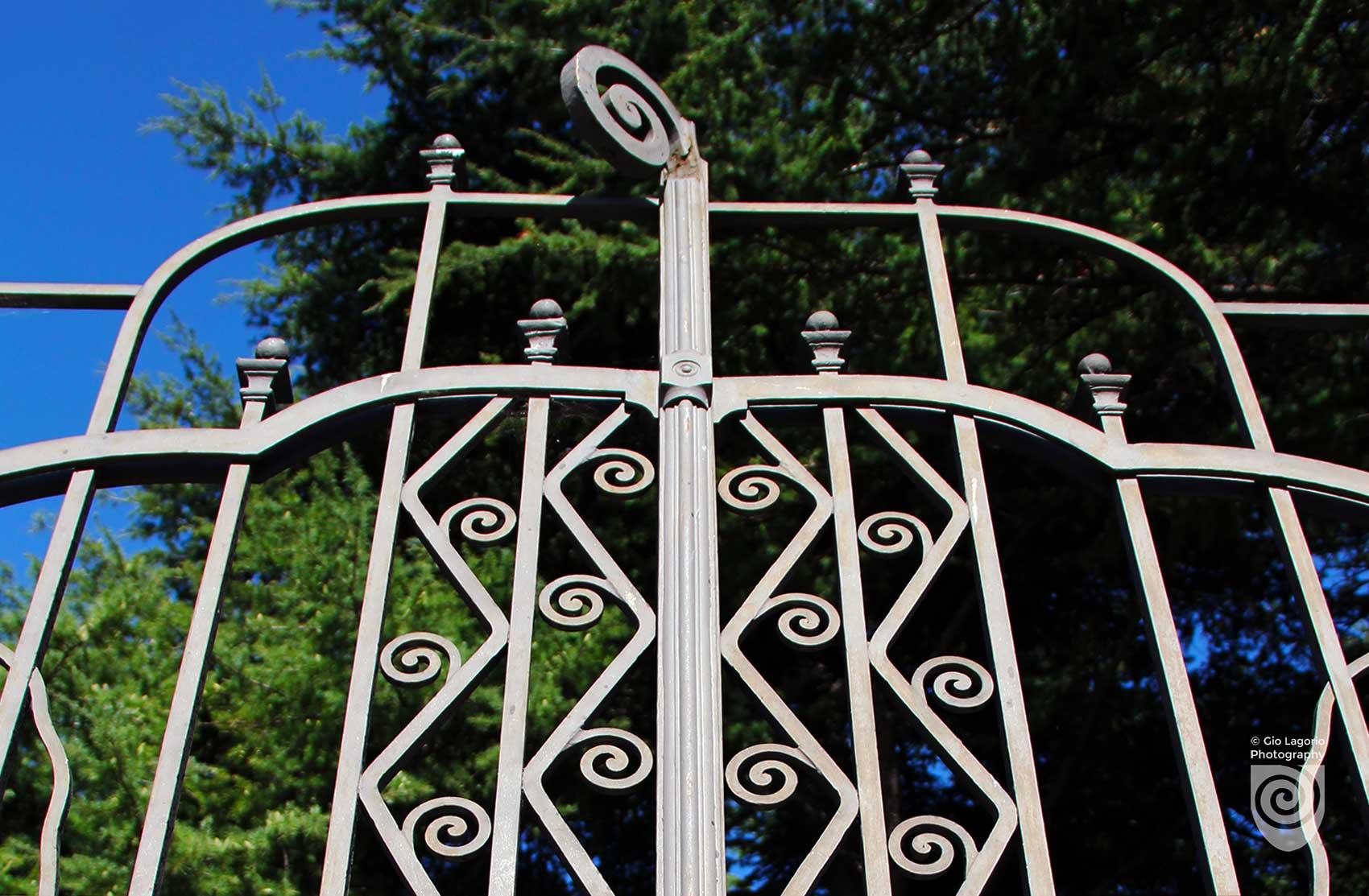 Cancello di Villa Grock