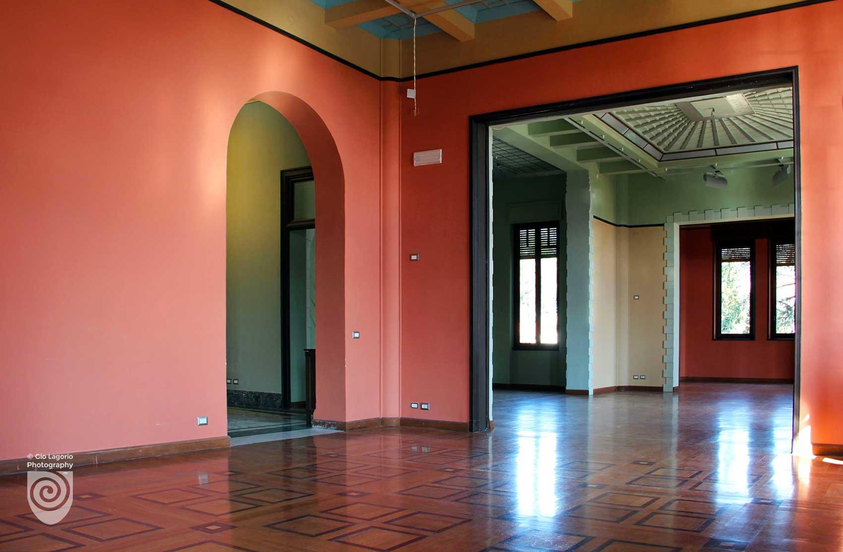 Il salone di ingresso