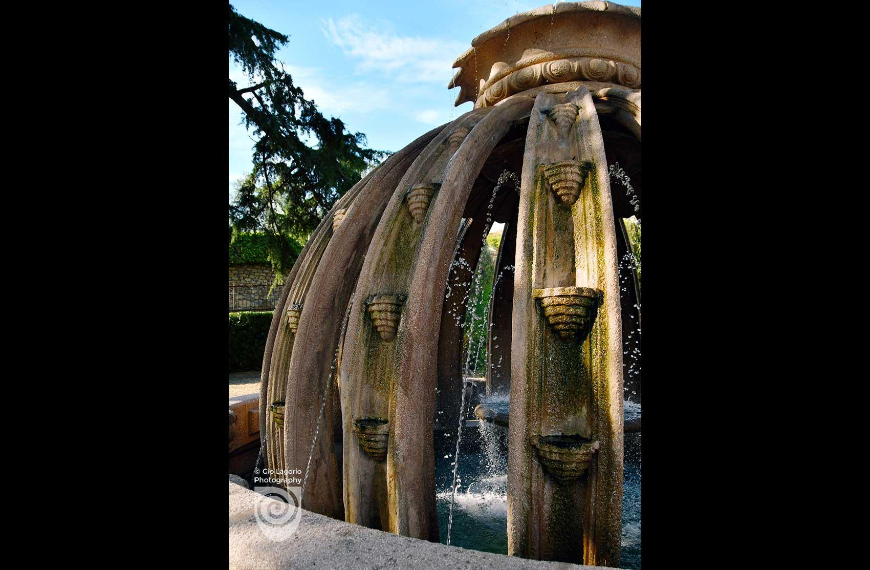 Dettaglio della fontana