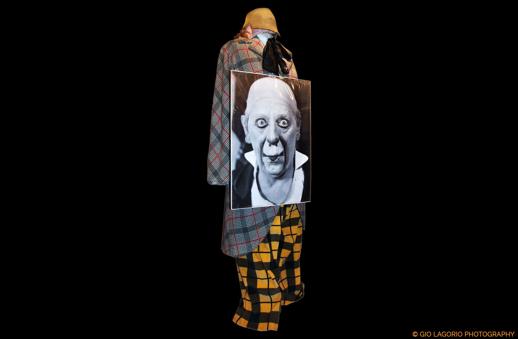 Costume originale di Grock · Collezione privata Dr Alain Frère