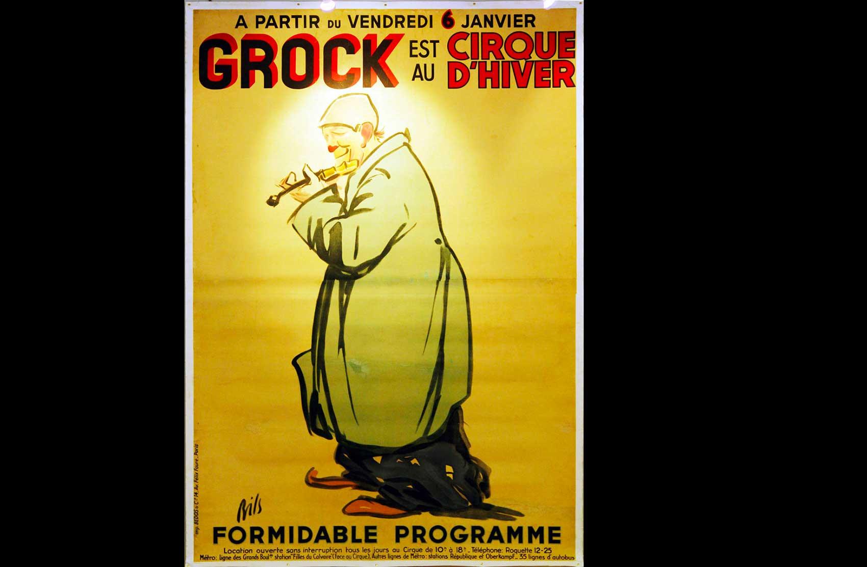 Affiche del Cirque d Hiver di Parigi · Collezione privata Dr Alain Frère