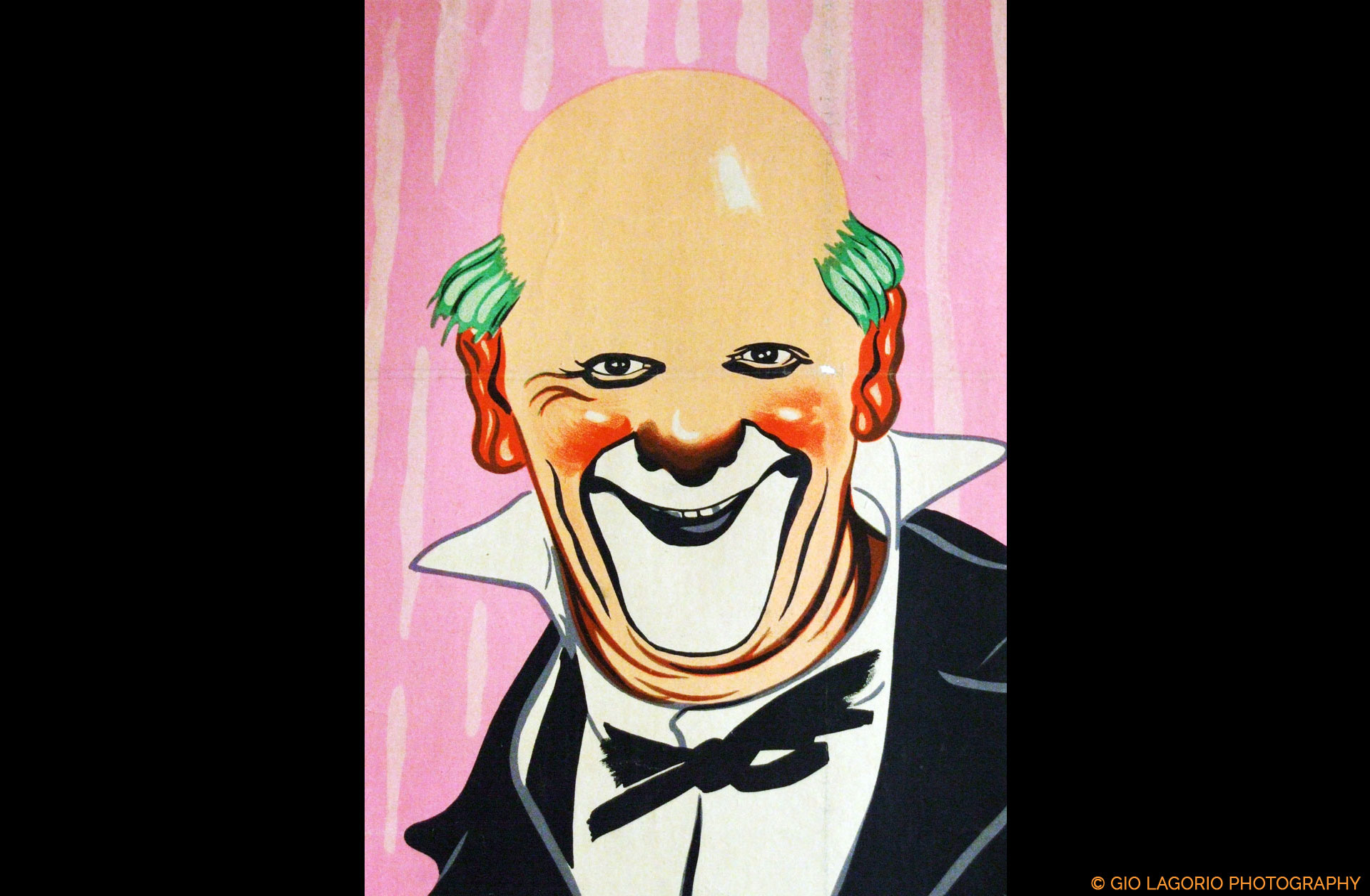 Affiche del Circo Medrano di Parigi (Dettaglio) · Collezione privata Dr Alain Frère