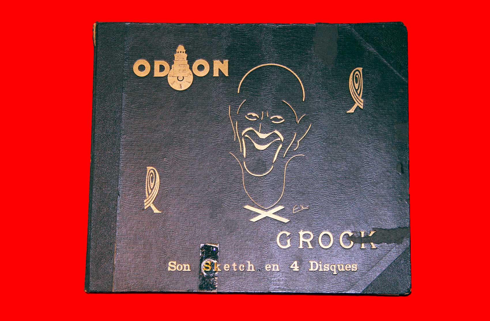 Dischi dello sketch di Grock · Collezione privata Dr Alain Frère